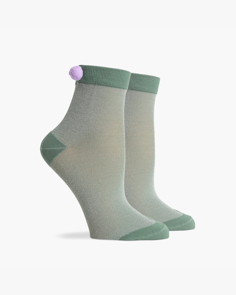 Women's Ankle Aida Sock - Green