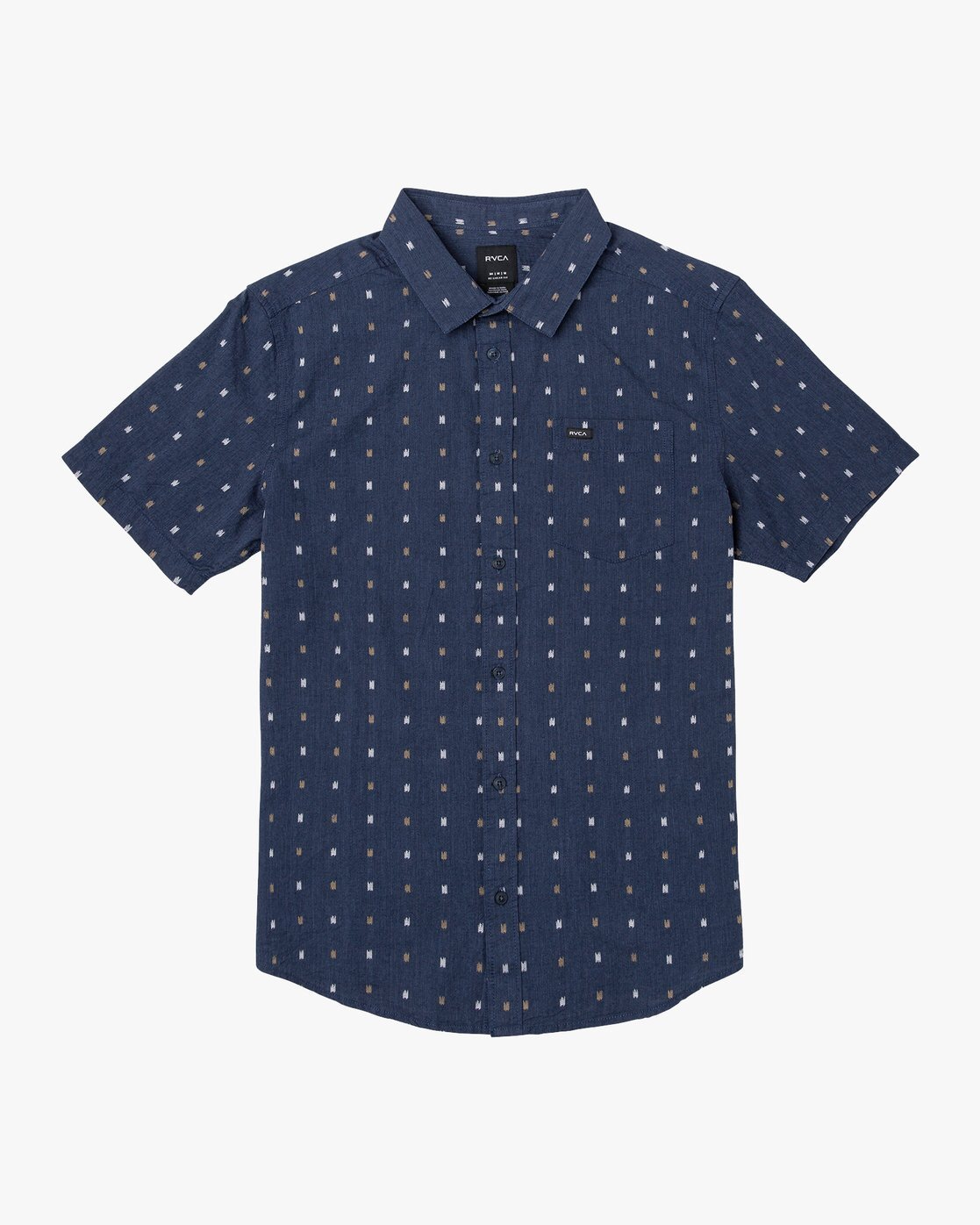 Aye Kat Short Sleeve Woven - China Blue