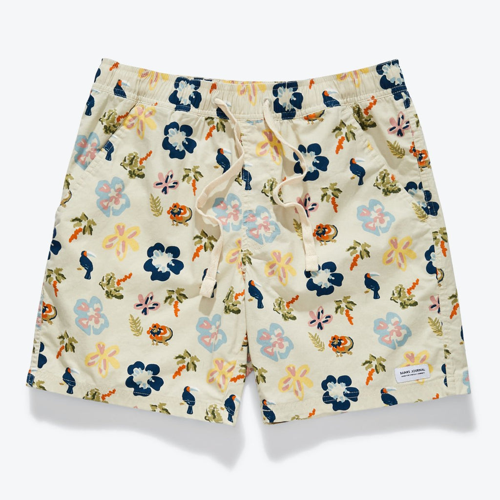 Travels Boardshorts - Bone