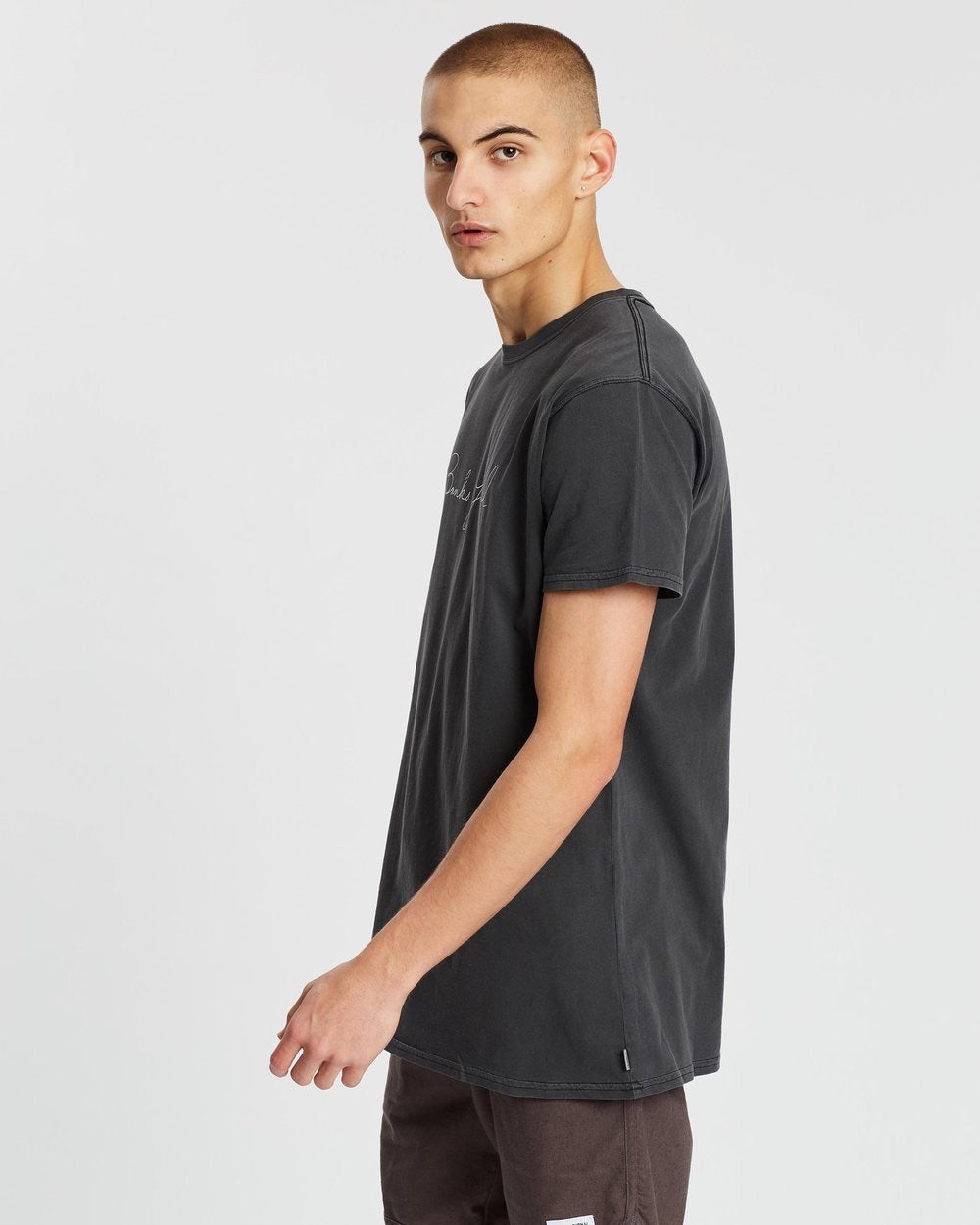 Chances Breeze Tee - Dirty Black