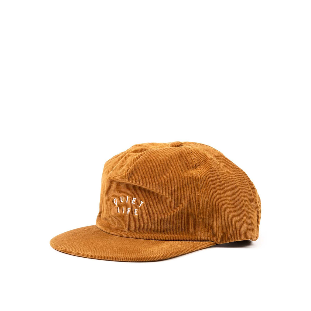 Standard Cord Relaxed Snapback Hat - Brown