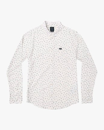 Prelude Floral Long Sleeve - Antique White
