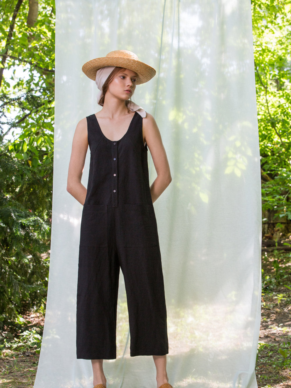Midi Jumpsuit - Black