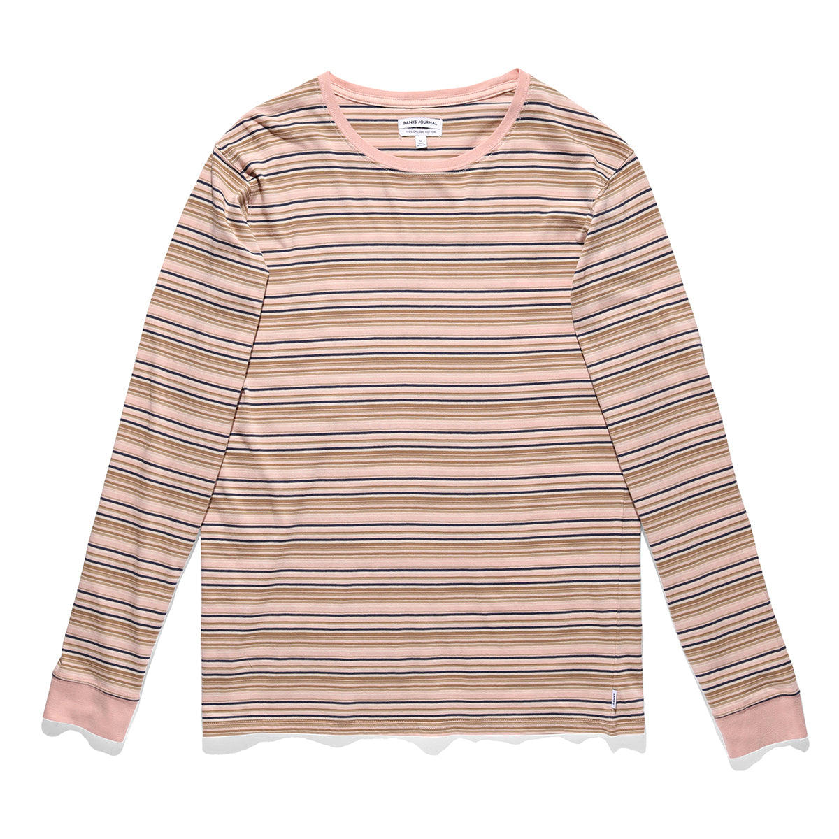 Counterparty Long Sleeve Tee - Rose Smoke
