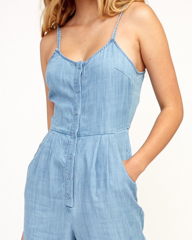 Flasher Chambray Jumpsuit