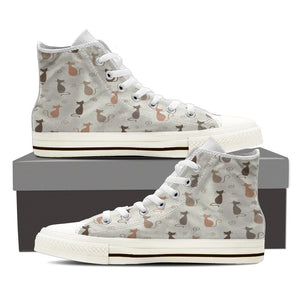 Cat Print - Womens Canvas Shoe