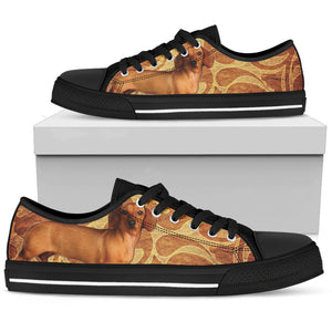 Dachshund 2 Low Top