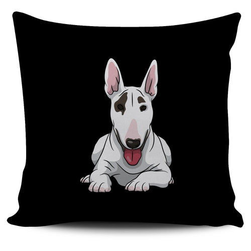 Bull Terrier Pillow - footsteppers