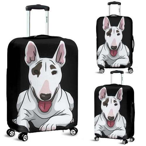 Bull Terrier Luggage Cover