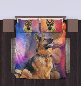 German Shepherd Bed Set