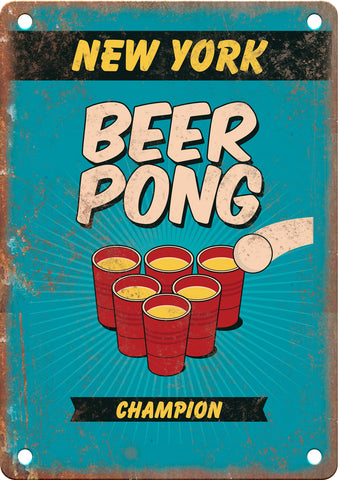 Beer Pong Metal Sings