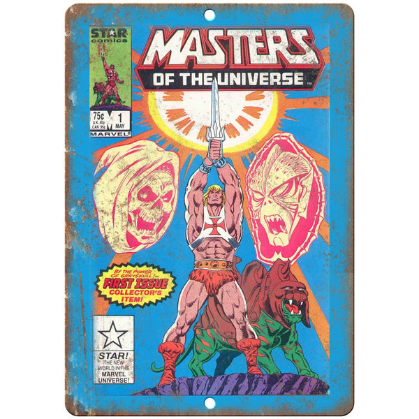 "Masters of The Universe Star Comic 1st Issue 10""x7"" Reproduction Metal Sign J17"