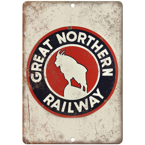 Great Northern Railway Porcelain Look Reproduction Metal Sign U148