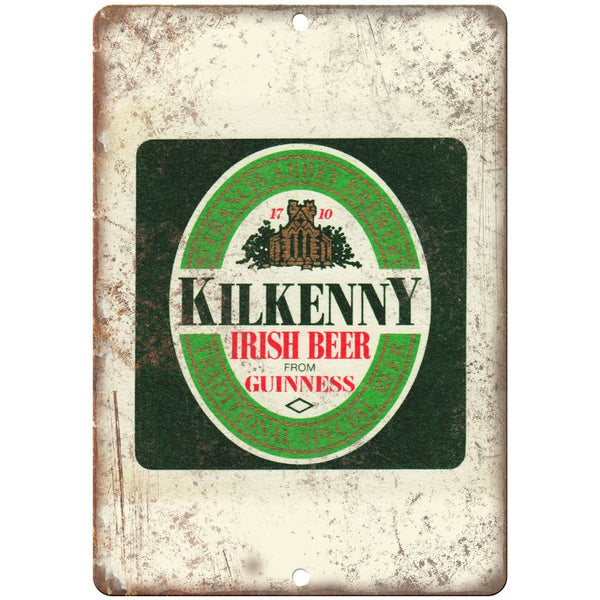 "Kilkenny Irish Beer Guinness Vintage Beer 10"" x 7"" Reproduction Metal Sign E279"