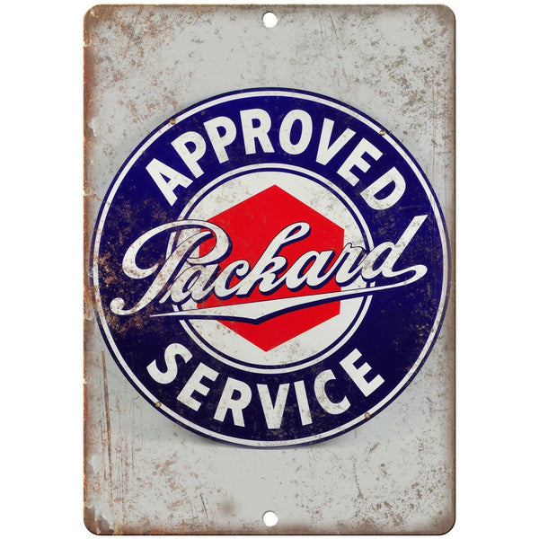 Packard Service Porcelain Look Reproduction Metal Sign U127