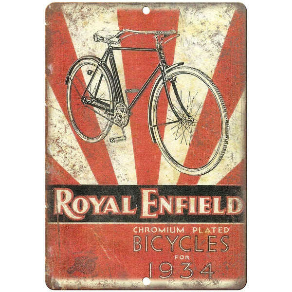 1934 Royal Enfield Chromium Bicycle Ad 10