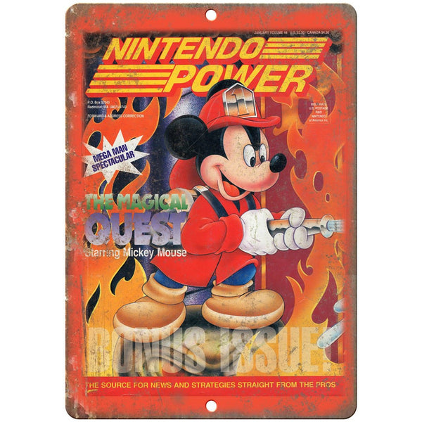 Nintendo Power Mickey Mouse Magical Quest 10