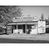 1940 Real estate office at Central Valley, California H03