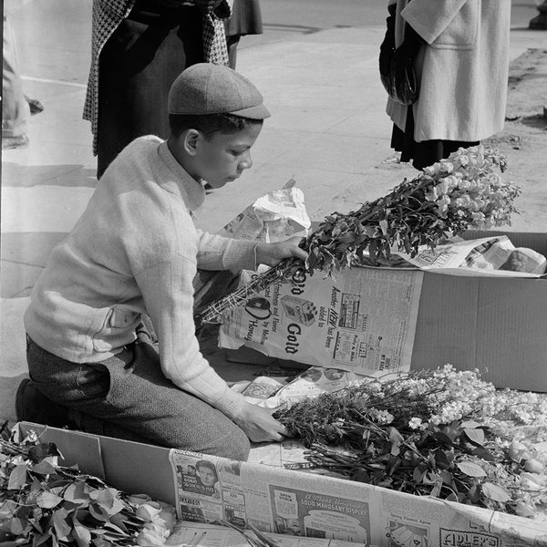 1943 Washington, D.C. Easter flower stand H47