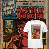 Mater of Kung Fu Comic Art T-shirt J138
