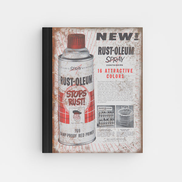 Rust-Oleum Spray Paint Can - Perfect Bound Offset Journal Z86