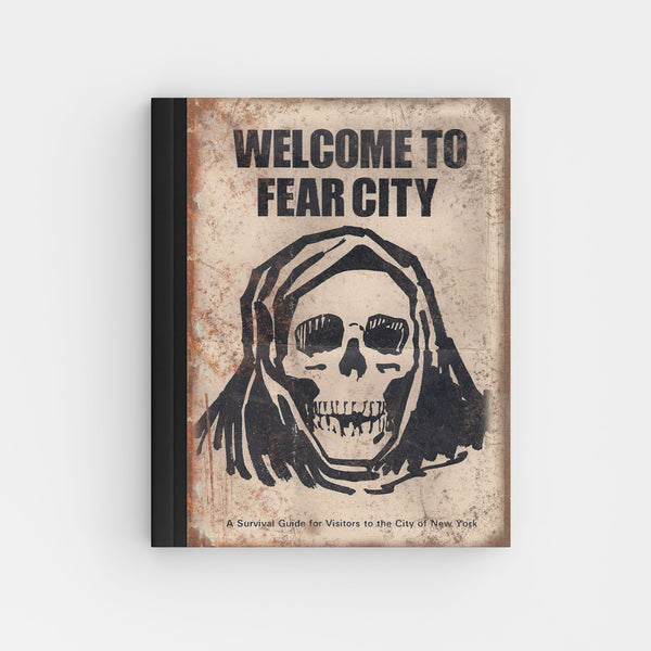 Welcome To Fear City New York City - Perfect Bound Offset Journal T02