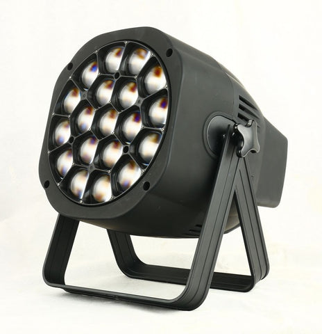 LED Par Wash + Zoom 15 Watt RGBW 4 in 1 x 19