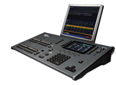 Creative theatrical lighting console 2048 or 4096 channels
