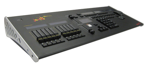 Moving light and generic lighting console 200 channels