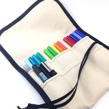 M / TALL Brush Pen Roll / Buy it For Life / Natural with Black