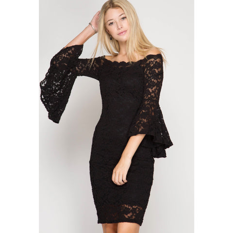 Night Out Dress In Black