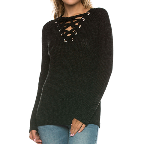 Must Have Sweater In Black