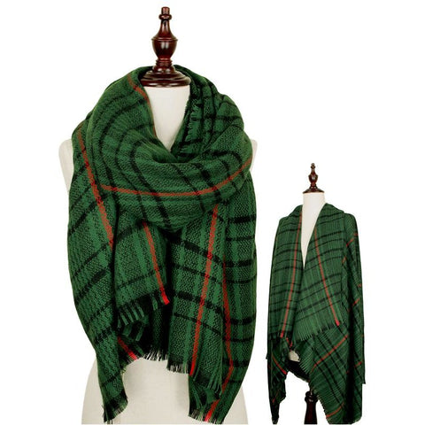 Green Mix Scarf