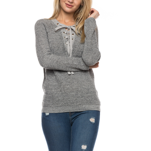 Must Have Sweater In Gray