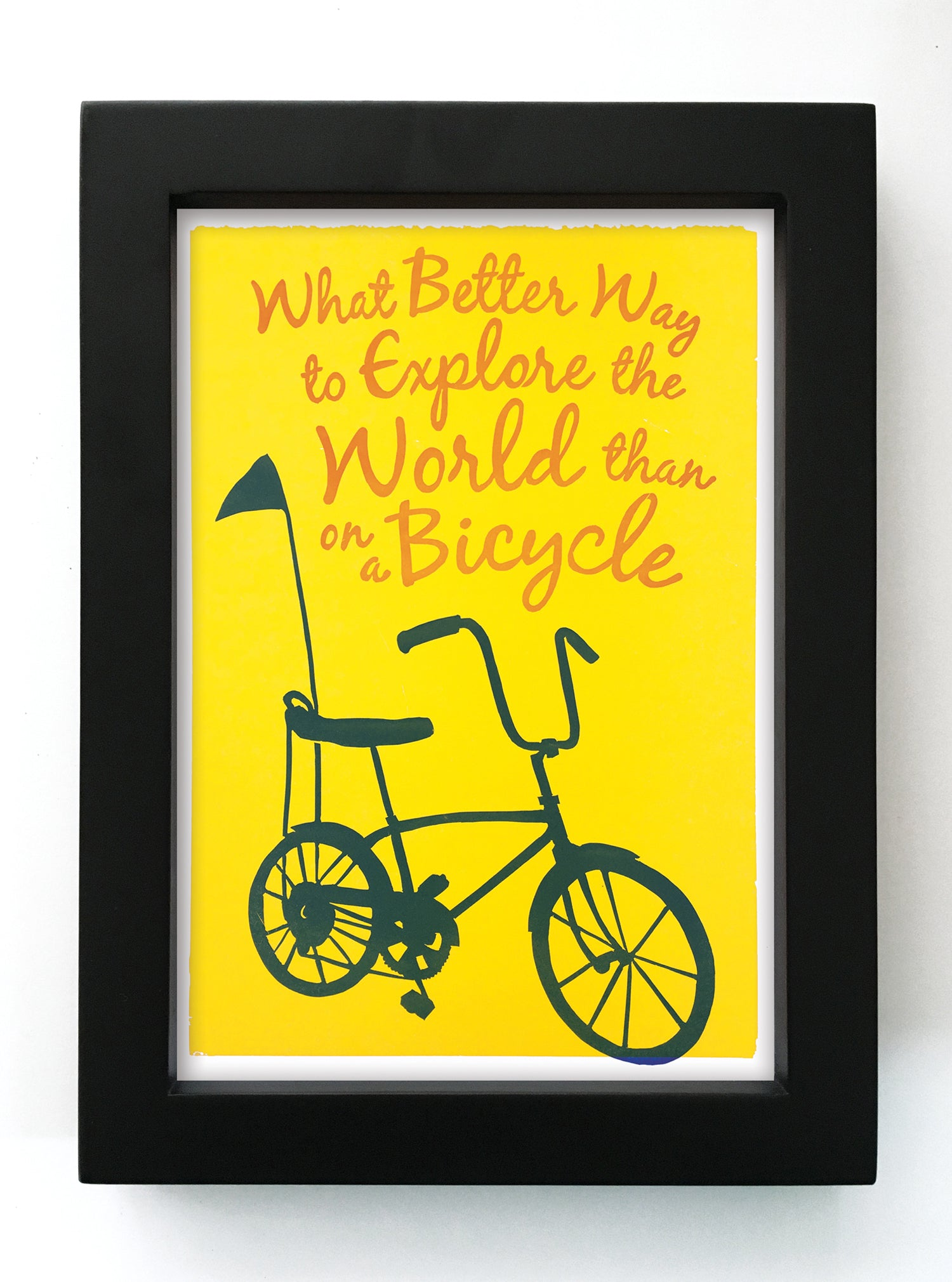 "Explore the World 5"" x 7"" Framed Reproduction"