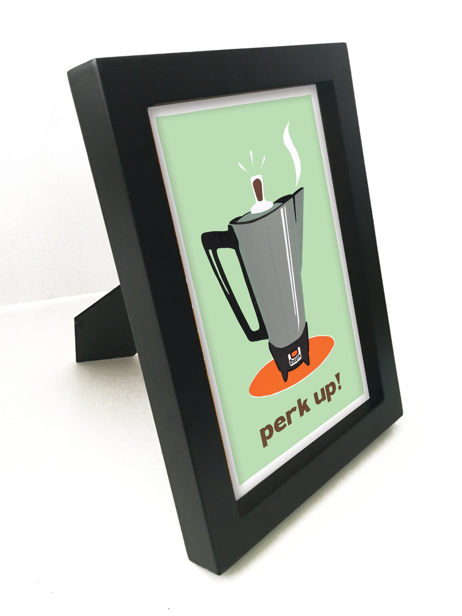 "Perk Up! 5"" x 7"" Framed Reproduction"