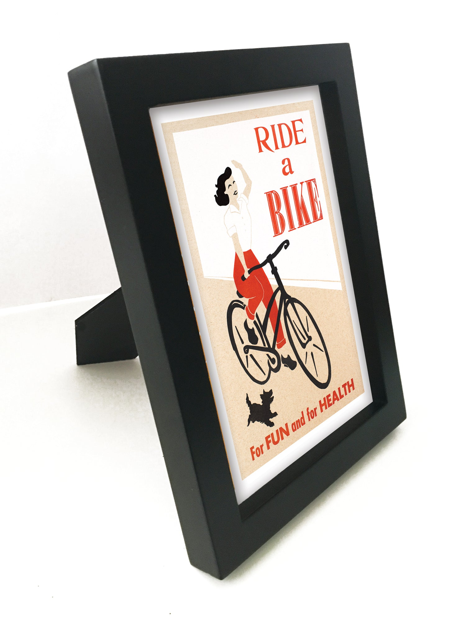 "Ride A Bike 5"" x 7"" Framed Print"