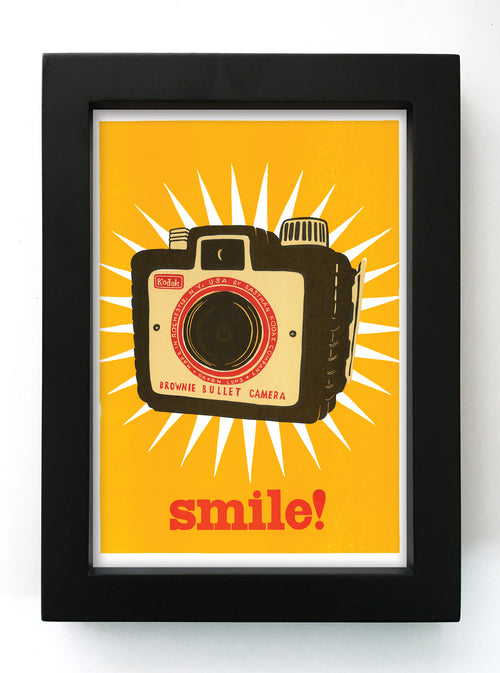 "Smile! 5"" x 7"" Framed Print"