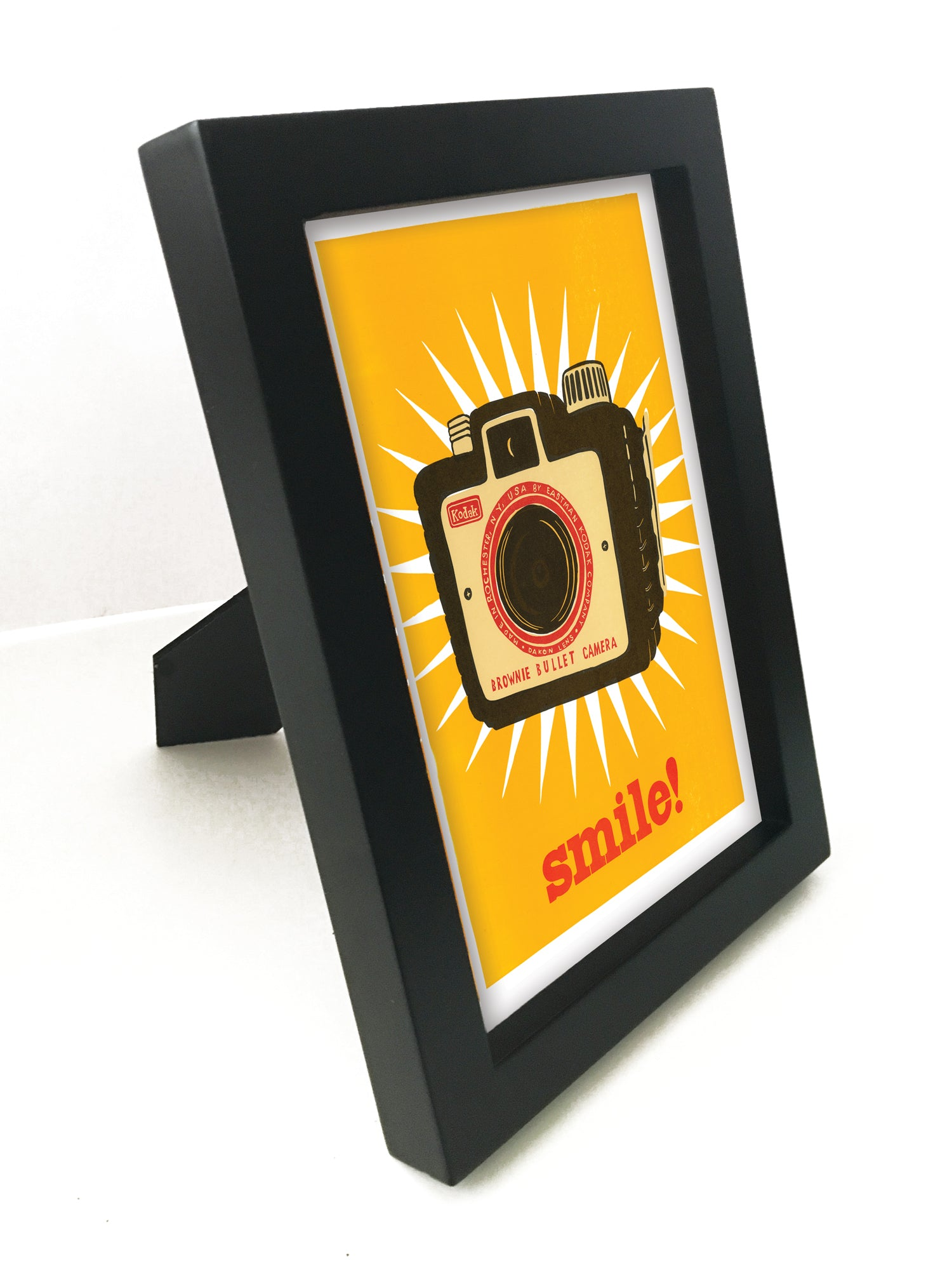"Smile! 5"" x 7"" Framed Reproduction"