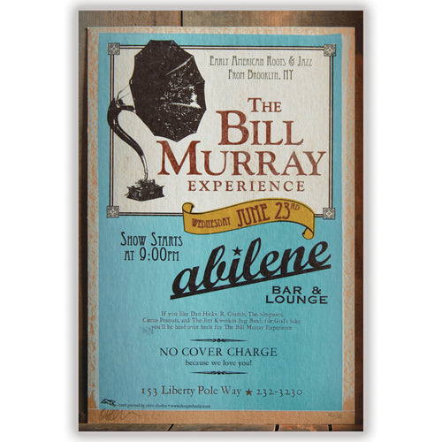 The Bill Murray Experience Show Poster