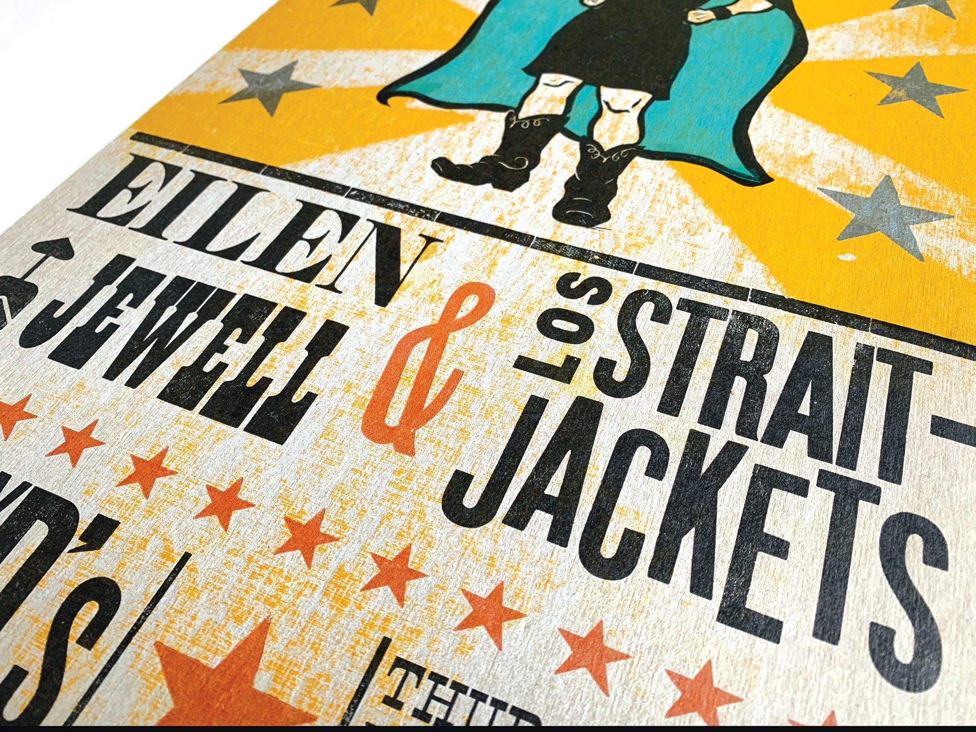 Eilen Jewell/Los Straitjackets Concert Poster