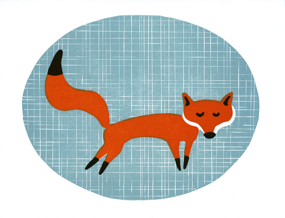 Daydreaming Fox