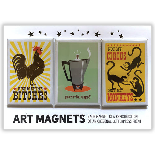 Art Magnet 3 Packs