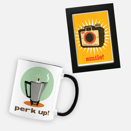 Mug + Framed Print Gift Set