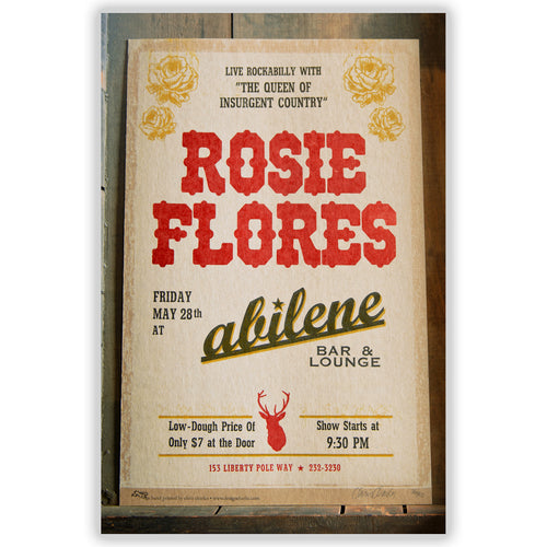 Rosie Flores at Abilene Bar and Lounge