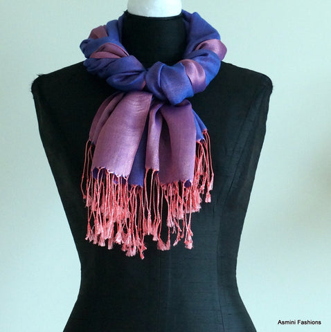 The Twist Scarf Knot