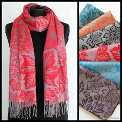 Maple Leaf Pashmina