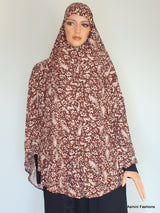 Extra Long Al-Amirah Hijab with Sequins