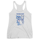 The Curse Is Dead Triblend Racerback Tank Top