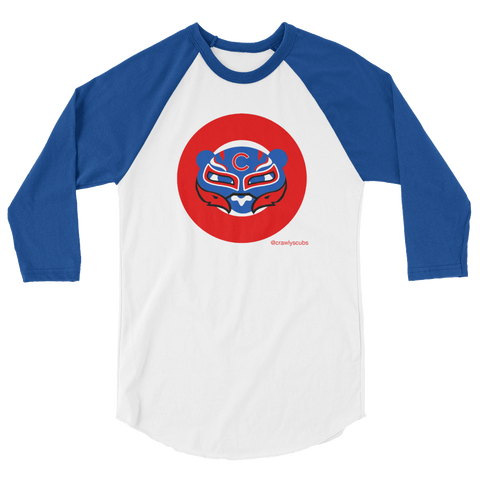 Luchador Unisex/Men's Two Tone Three Quarter Length Shirt